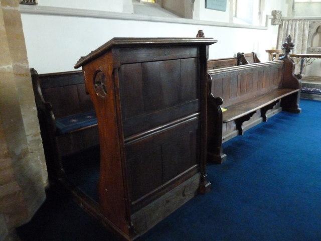 Inside All Saints, Poyntington (II)