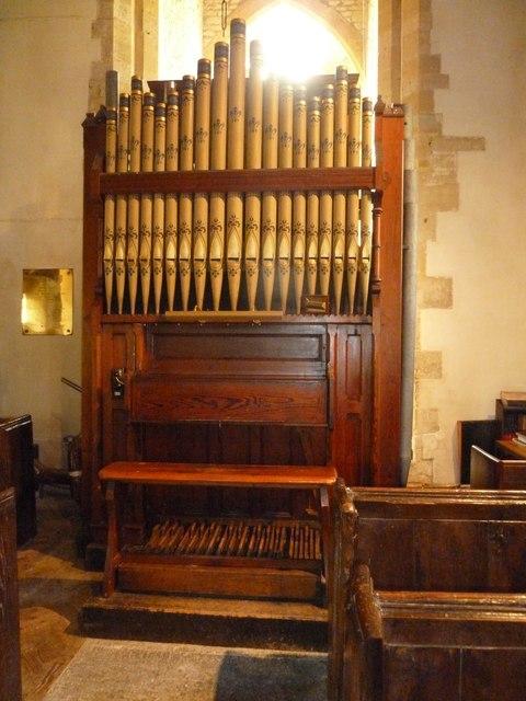 All Saints, Poyntington: organ