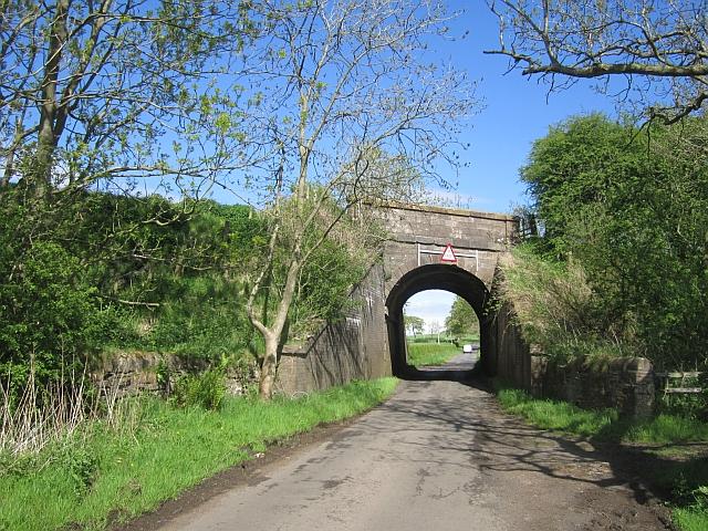 Dalry to Kilmarnock railway
