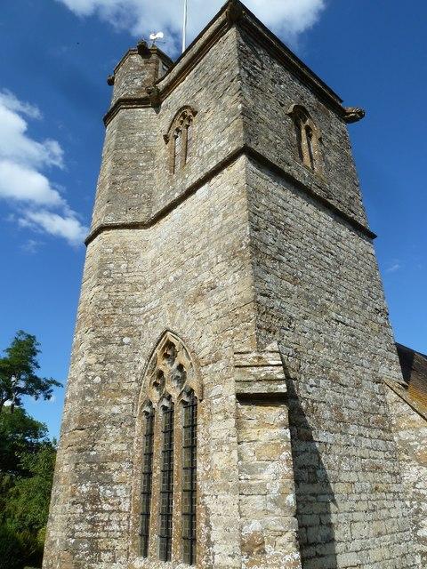 All Saints, Poyntington: tower