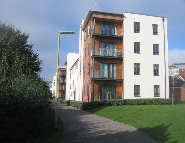 New flats - Sinclair Drive