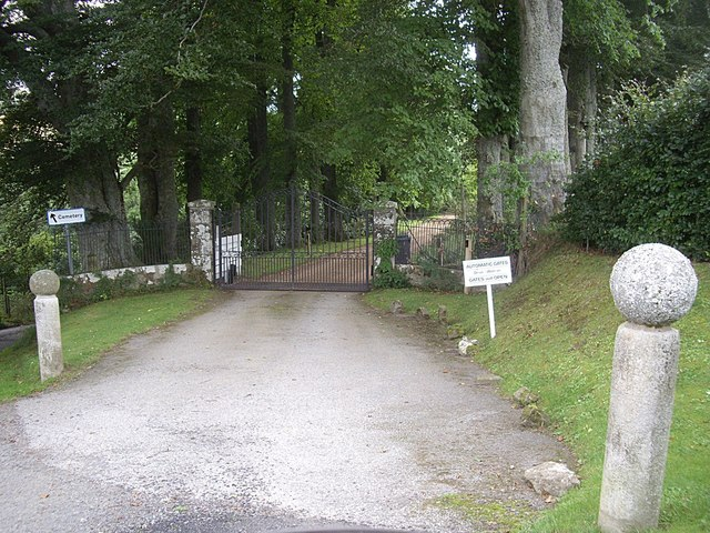 Access to The Manse, Rhynie