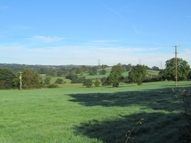 Countryside near Dunwood