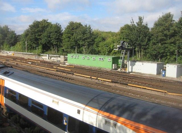 East of Basingstoke station