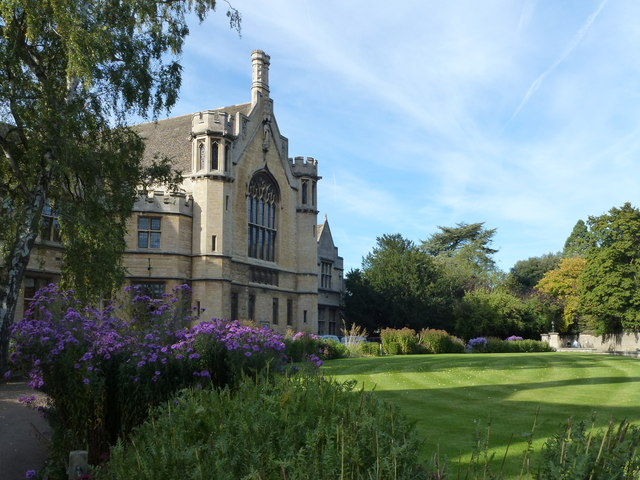 School gardens on New Street Oundle