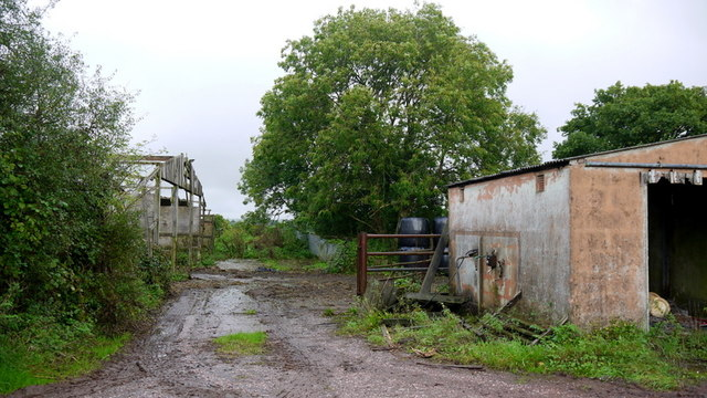 Mear Farm buildings, 2