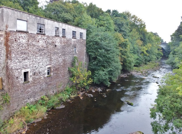 The Allan Water in Dunblane