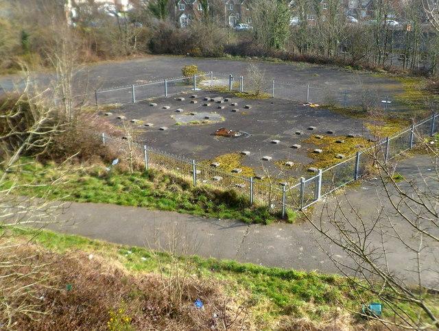 Former playground, Velindre, Port Talbot