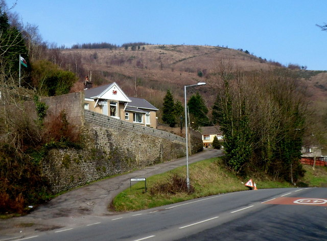 Corlannau houses, Port Talbot