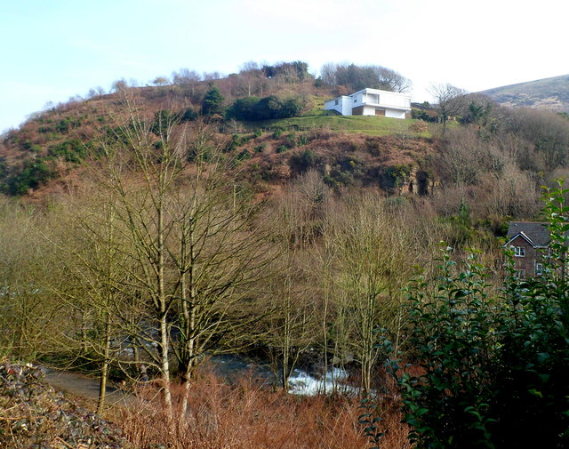 Hilltop house in Bay View, Port Talbot