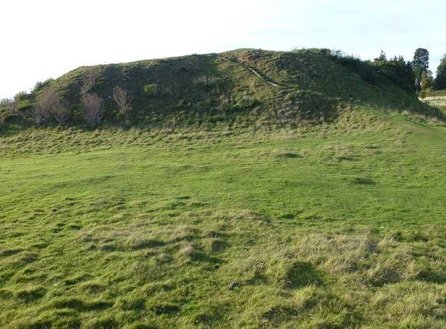 The keep mound, Fotheringhay Castle