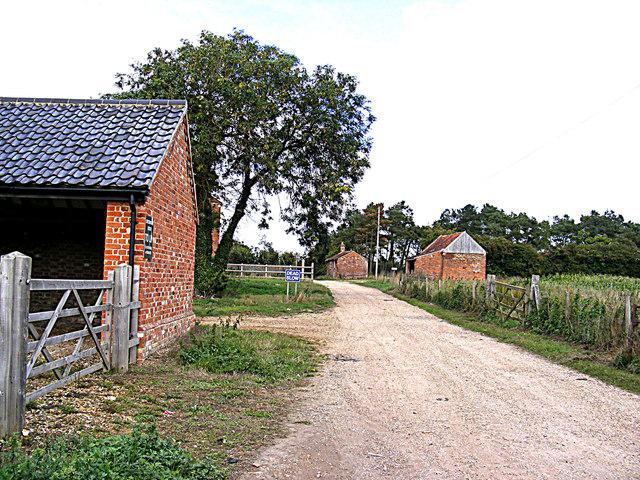 Entrance to The High House & Brickyard Farm