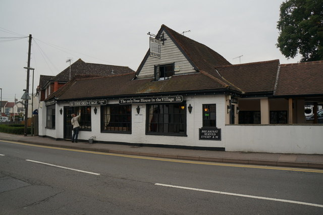 The Old Cage public house, Lingfield