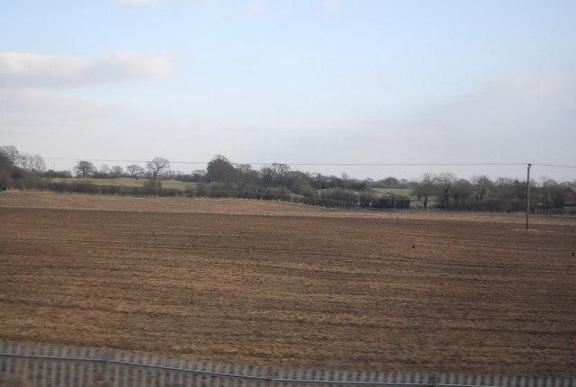 Fallow field, Brook House Farm