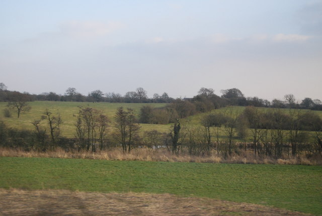 Countryside north of Crewe