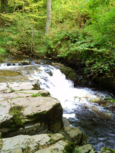 Waterfall on Hudeshope Beck