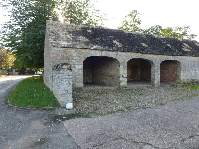 Cart shed at Manor Farm, Fotheringhay