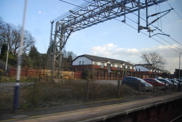Passing through Sandbach Station