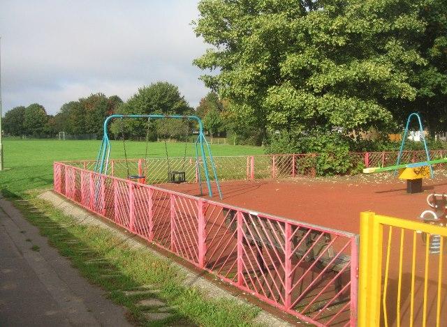 Winklebury Park play area