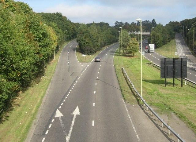 A340 - Ring road Basingstoke