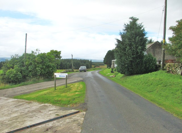 The entrance to Gilchristland