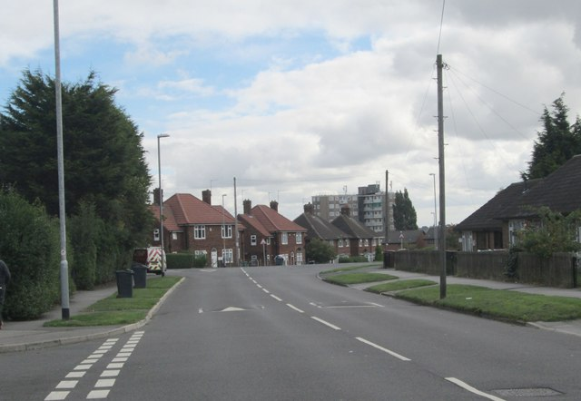Foundry Drive - viewed from St Wilfrid's Avenue