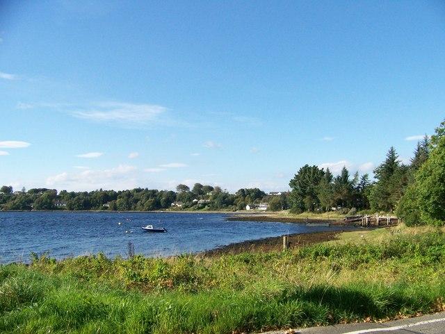 Small bay on Loch Etive