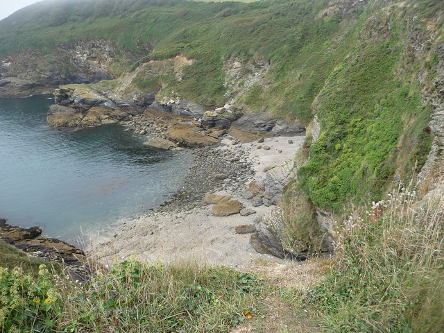 Cove between Black Head and Drennick