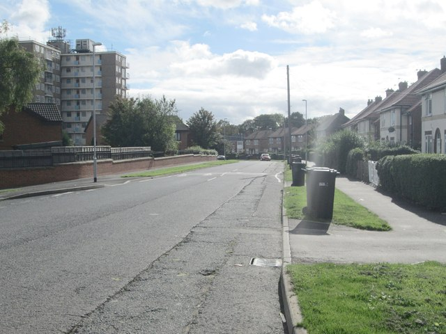 Foundry Avenue - viewed from Thorn Drive