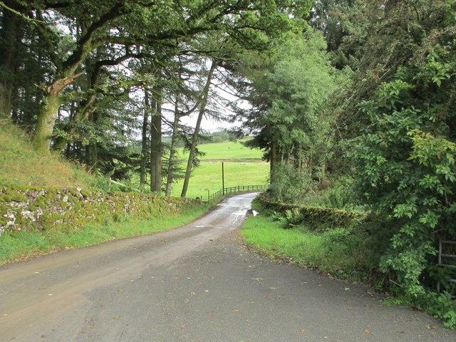 Gilchristland farm road