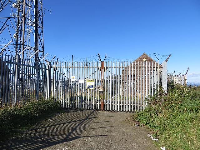 Mast compound, Falside Hill