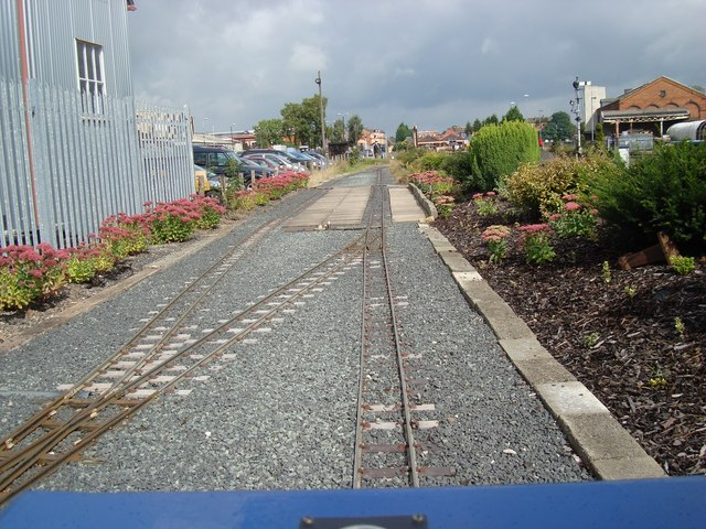Tutherend Station on the Coalyard Miniature Railway