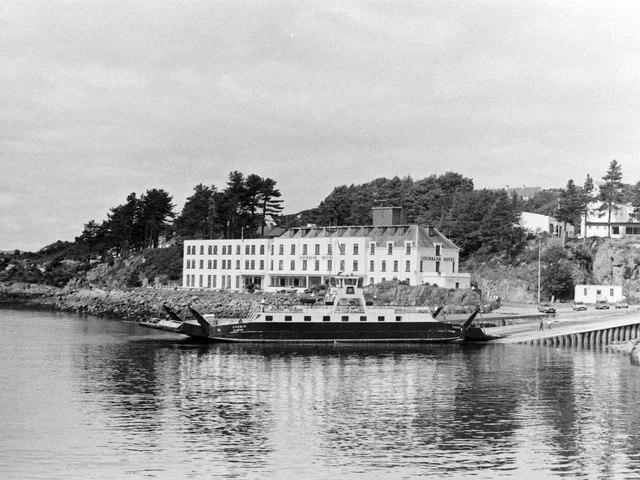 Lochalsh Hotel and Skye Ferry, 1985