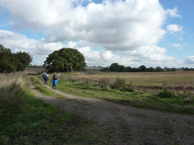 On foot through Nottinghamshire