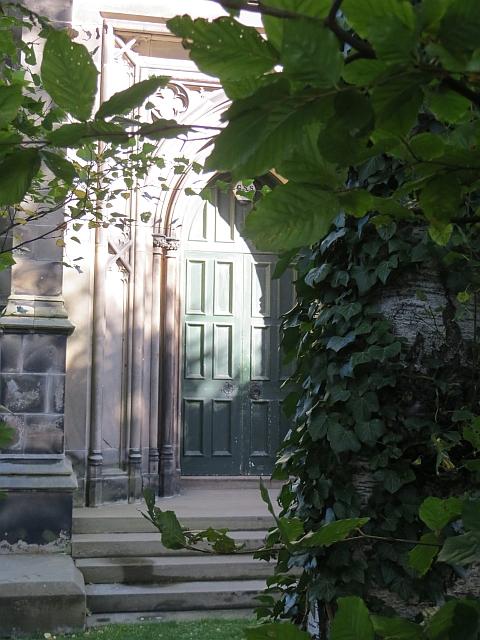Door, West Parish Church