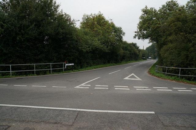 Church Road towards Horne