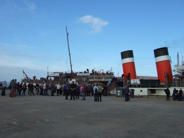 PS Waverley at Whitstable harbour