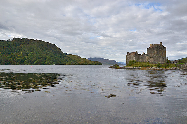 Loch and castle