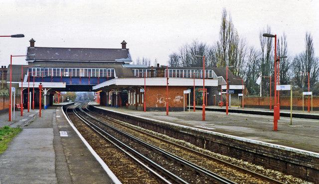 Horley station, 1992
