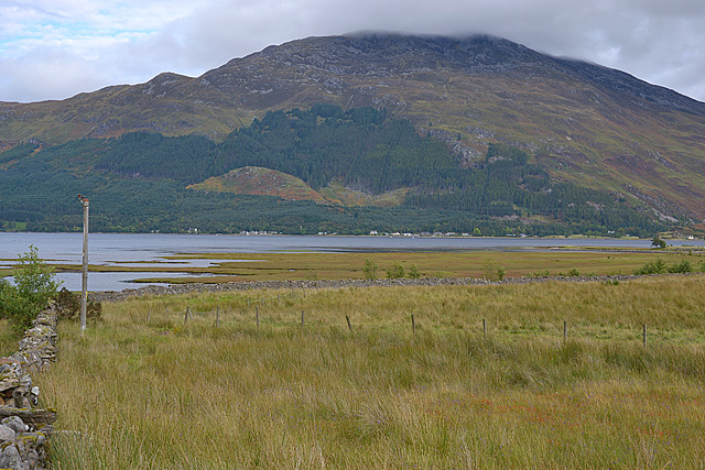 The head of Loch Duich
