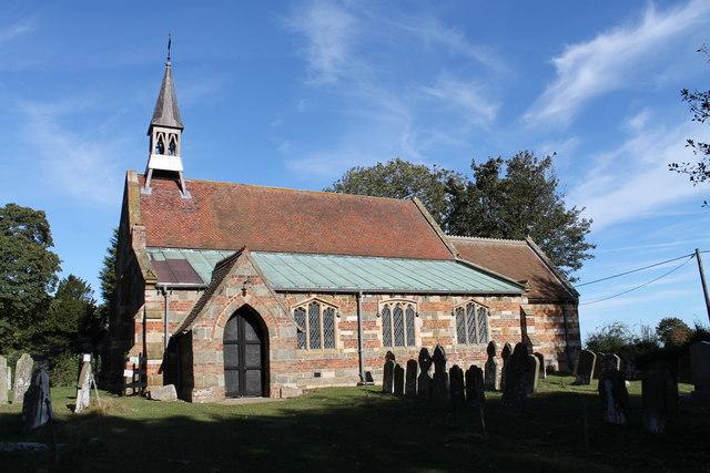 St Oswald's church, Strubby