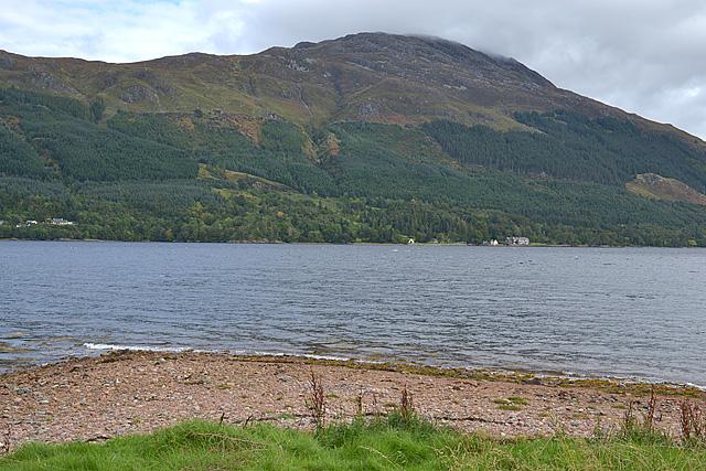 Beach on Loch Duich