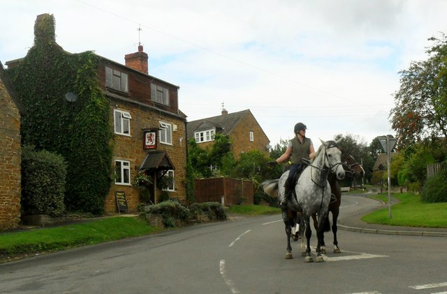 Horse riders in Horley
