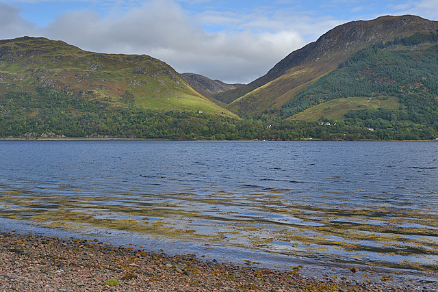 Looking across Loch Duich