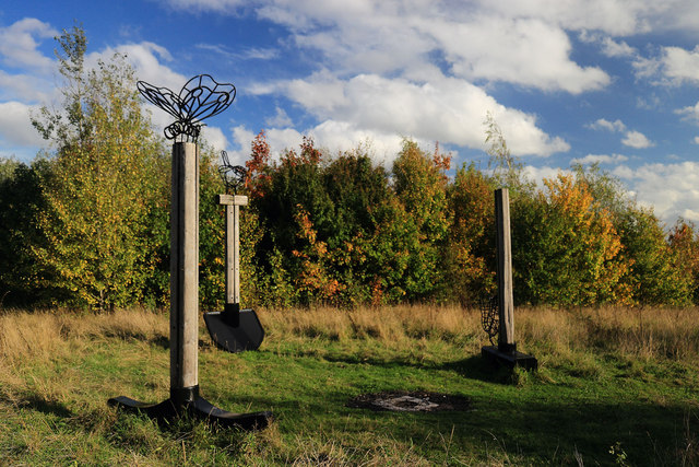 Monument in Freckland Wood