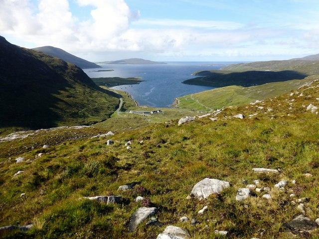 A View Back Towards Ceann an Ora