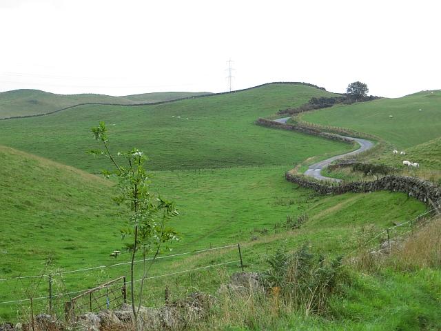 Milnathort - Path of Condie road