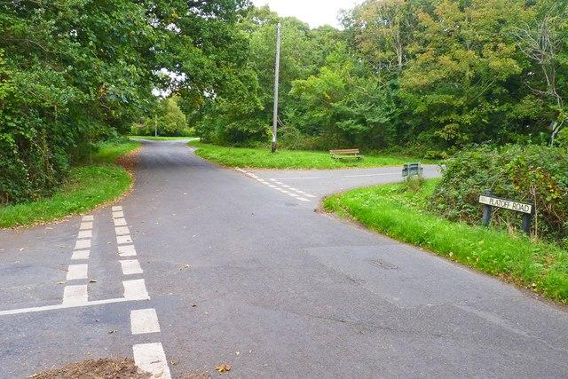 Road Junction at Woodside