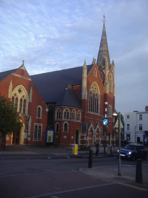 Kensal Rise Methodist Church on Chamberlayne Road