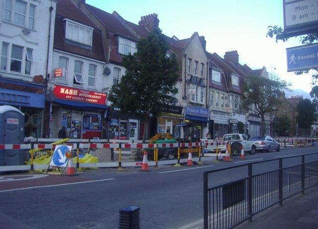 Shops on Okehampton Road, Kensal Rise